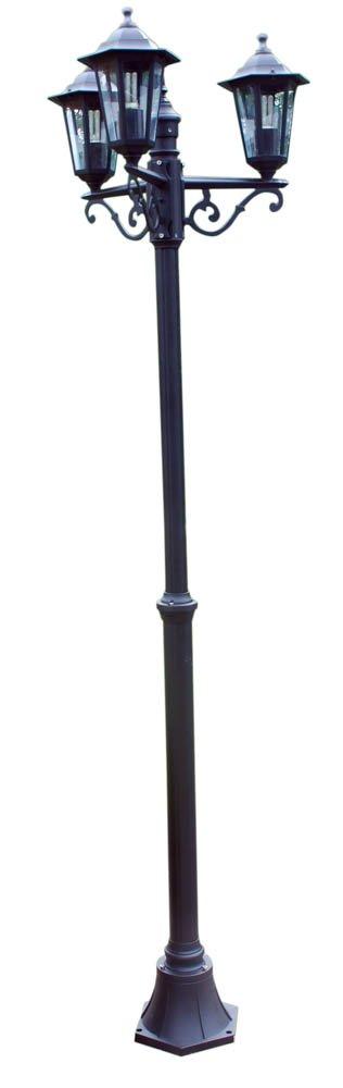 Kingfisher Victorian Style 3 Head Lamp Post Bonnington Plastics OUT1