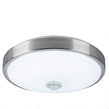 AFSEMOS Motion Sensor Ceiling Light 18W 14-inch Body Detector, LED ...