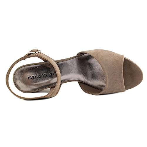 Taupe Girl Fabric Stiefeletten Shaare Madden Mode Stoff Spitz OdY7xUP