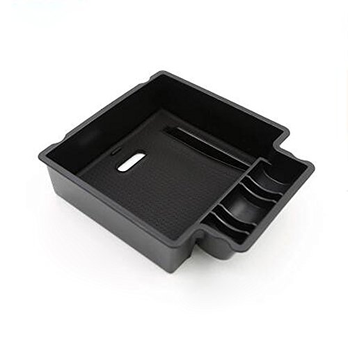 Salusy Central Console Armrest Storage Box Glove Secondary Tray For Porsche Macan 2015 2016 2017 (Porsche Box)