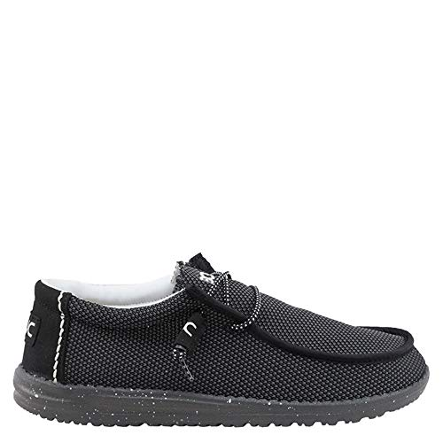 (Hey Dude 111154200: Mens Wally Sox Onyx Loafers (11 D(M) US Men))