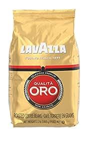 Lavazza Qualita Oro - Whole Bean Coffe, 8.8-Ounce Bags (Pack of 4)