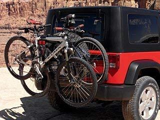 Hummer Tire Rack - Chrysler Genuine TSPRO963 Bicycle Carrier