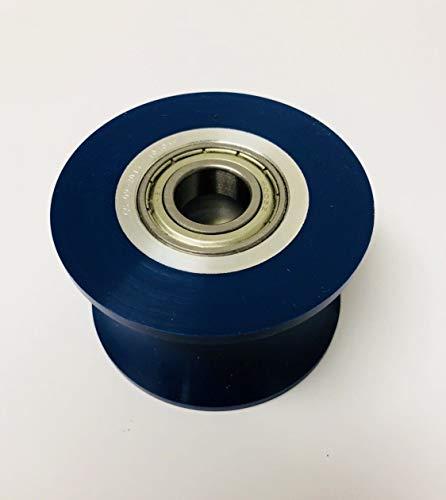 Octane Fitness Blue Rail Roller Wheel Octane Q3500 Pro 4500 Pro 370 Works Elliptical