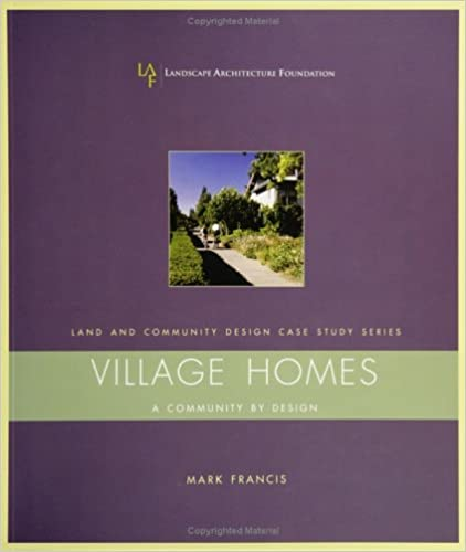 Amazon.com: Village Homes: A Community By Design (Landscape ...