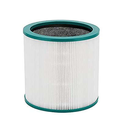 cabiclean Replacement HEPA Filter Compatible Dyson Pure Cool Link Dyson Tower Purifier, Replaces Part # 968126-03