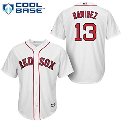 Hanley Ramirez Boston Red Sox Youth Cool Base Home Jersey by Majestic  Athletic (Large) 5d0f94634e8