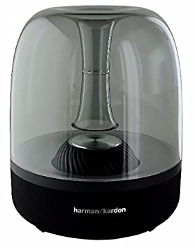 Harman Kardon Aura Studio Wireless Bluetooth Home Speaker System - Black (Certified Refurbished)