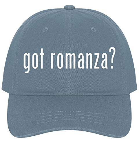 The Town Butler got Romanza? - A Nice Comfortable Adjustable Dad Hat Cap, Light Blue