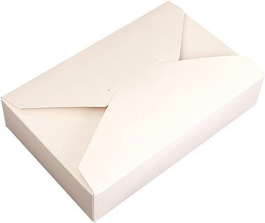 Set de 5 simple sobre Creative caja para galletas pastel embalaje ...