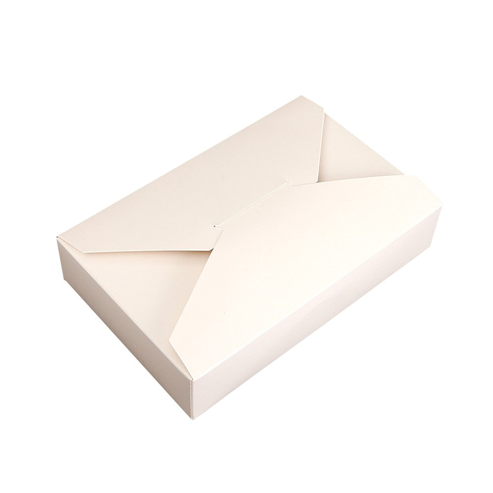 Set of 5 Simple Envelope Creative Kraft Paper Biscuit Cake Packaging Box ,19.5*12.5*4CM Tong Yue