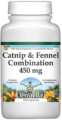 Catnip and Fennel Combination - 450 mg (100 Capsules, ZIN: 512491)