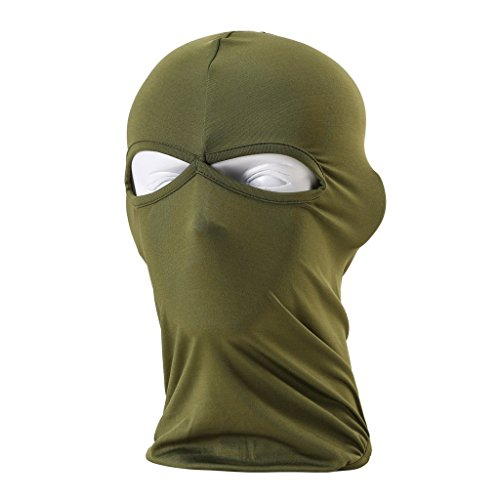 Ezyoutdoor Windproof Outdoor Sports Lycra Balaclava Full Face Mask for Motorcycle Fishing Cycling Skiing Snowboarding Outdoor Sports (Army (Dance Costume Suppliers Uk)