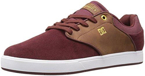 DC Men's Mikey Taylor Skate Shoe, Black/Gum, D(M) US Burgundy