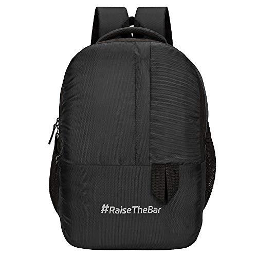 Sassie 31 LTR Black Dynamic Backpack/Casual Bagpack/School Bag