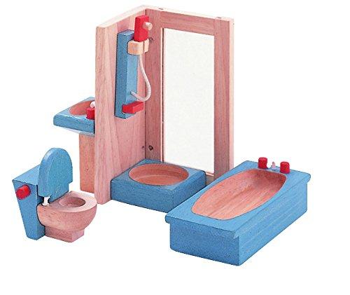 PLAN TOYS Dollhouse Furniture - Neo Bathroom (Type Furniture Of)
