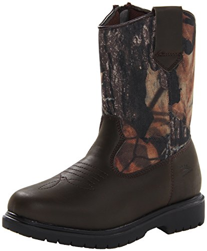 Deer Stags Tour Pull-On Boot (Little Kid/Big Kid),Camouflage/Brown,5 M US Big ()