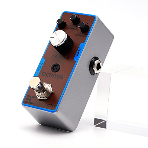 EX Octaver Pedal with Two Low Octaves and One High Octave Pearl Octaver Miniature by EX