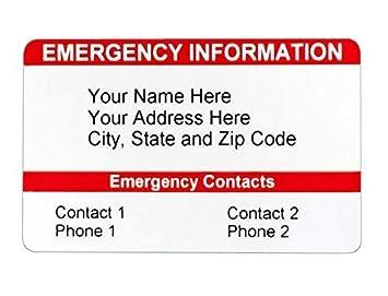 Amazon.com: Tarjeta de contacto tarjeta de tipo portafolios ...