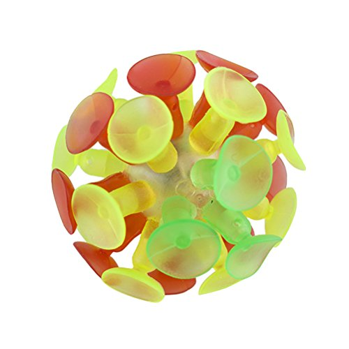 TOYMYTOY Suction Balls Bulk Pack 4 Pieces