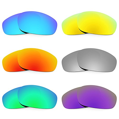 Revant Replacement Lenses for Oakley Split Jacket 6 Pair Combo Pack K027 by Revant