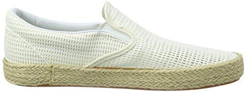 Vans Classic Slip-on Espadrille - Zapatillas Unisex adulto Blanco (mesh/true White)