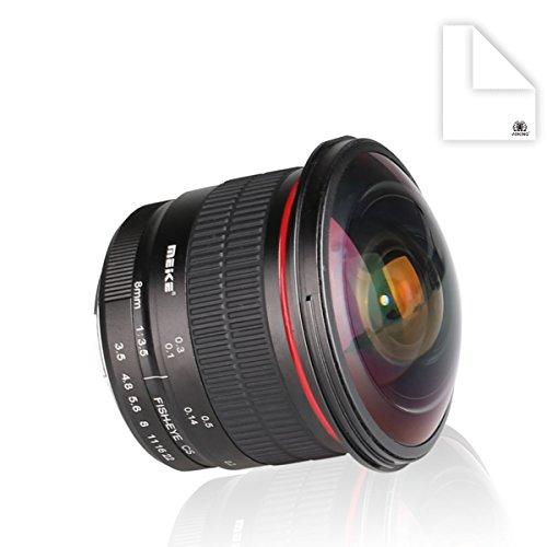 Meike 8 mm f / 3 5ワイド角度魚眼レンズレンズfor Nikon DSLR Cameras with aps-c /フルフレーム