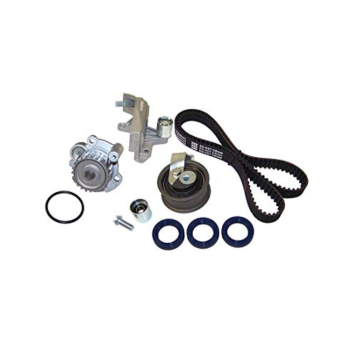 DNJ TBK800DWP Timing Belt Kit with Water Pump for 2001-2006 / Audi, Volkswagen / A4, A4 Quattro, Passat / 1.8L / DOHC / L4 / 20V / 1781cc / AMB, AWM (Audi A4 Passat)