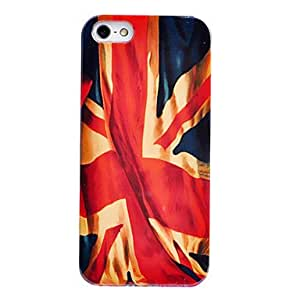 QHYUnion Jack Pattern ABS Back Case for iPhone 5/5S