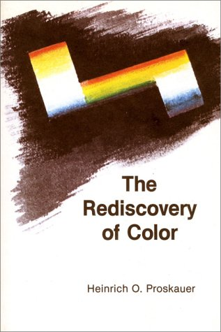 Free The Rediscovery of Color: Goethe Versus Newton Today/Book and Plates