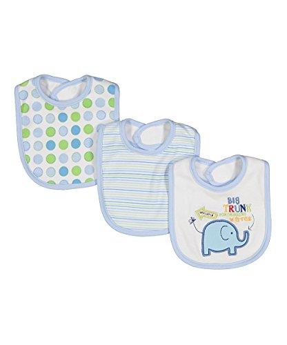 Spasilk Baby Newborn 3 Pack Teething Bibs