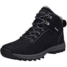Men Waterproof Shoes,Male Boots Skid Resistant Work Tooling Shoes Outdoor Climbing
