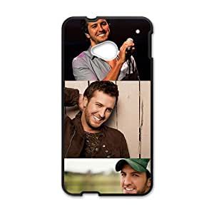 Amiable Guitar player Luke Bryan Cell Phone Case for HTC One M7