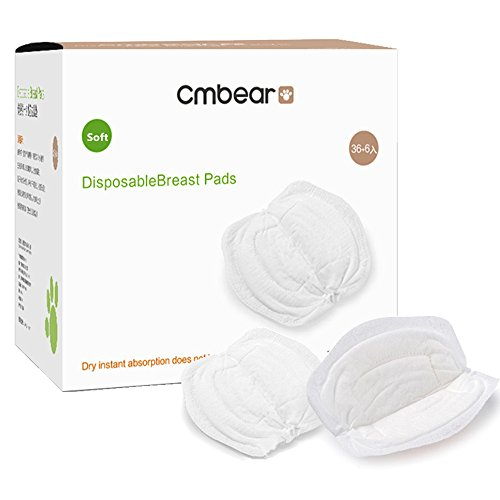 Nursing Pads,pad Stay Dry Disposable breast pads,Disposable anti-galactorrhea,Disposable Nursing Pads for Breastfeeding Mothers (1 Packs of 36pc) Super Absorbent Ultra Comfortable & Individually Wrapp