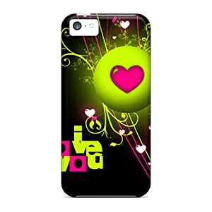 Iphone High Quality Tpu Case/ Love Byk15619jhGx Case Cover For Iphone 5c