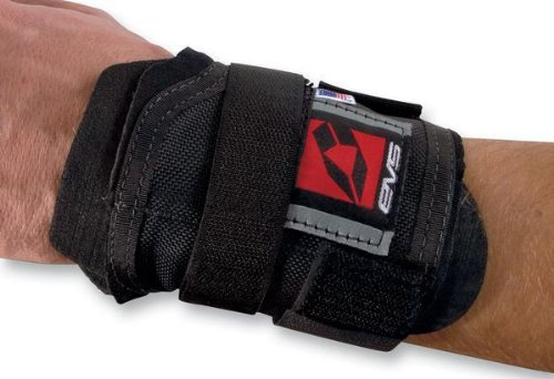 EVS WB01 Wrist Brace , Size: OSFM, Primary Color: Black, Gender: Mens/Unisex XF72-3165