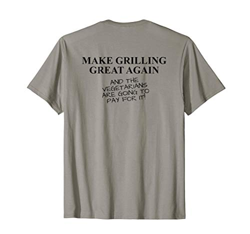 (Funny BBQ Grill Accessory Pitmaster Gift Dad Men Back)