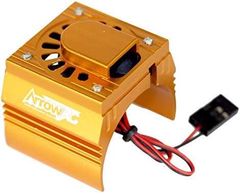 Motor Cooling Fan Orange Stampede VXL Powerhobby Traxxas Velineon VXL-3 ESC