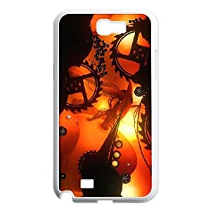 Samsung Galaxy N2 7100 Cell Phone Case White BADLAND Game of the Year Edition JNR2230221