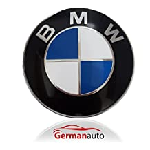 BMW Emblem Logo Replacement for Hood and/or Trunk 82mm for Models BMW E30 E36 E46 E34 E39 E60 E65 E38 X3 X5 X6 3 4 5 6 7 8