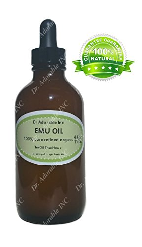 Emu Oil 100 Pure Organic Moisturizing Oil For Face Skin