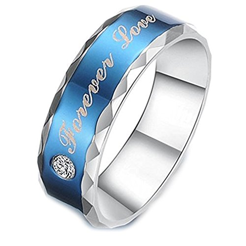Love Forever Rhinestone (Geminis Fashion Jewelry Blue