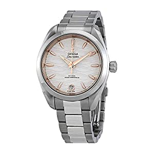 Omega Seamaster Aqua Terra Opaline Reloj automático para Hombre con Esfera Plateada 220.10.34.20.02.001 4