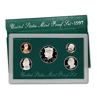 1997 United States Mint Proof Set Original Government Packaging Superb Gem Uncirculated ()