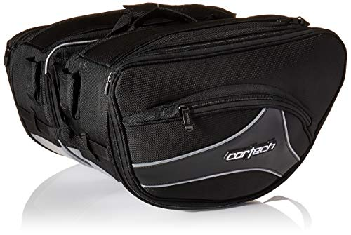 Cortech 8230-0305-36 Black Super 2.0 Saddlebag