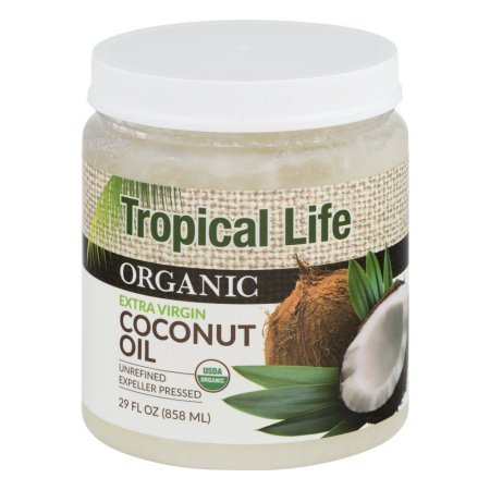 Tropical Life Organic Extra Virgin Coconut Oil 29 fl oz (Pack of 2) by Tropical Life
