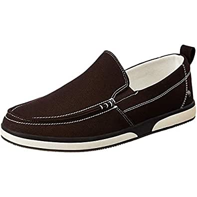 Numero Uno TMSECI216 Slip On Sneakers For Men (Brown)