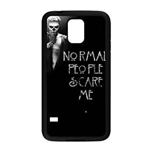 Unique DIY Design Cover Case with Hard Shell Protection for SamSung Galaxy S5 I9600 case with American Horror Story lxa#914093