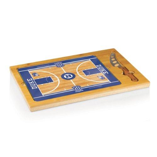 PICNIC TIME NCAA Duke Blue Devils Basketball Court Icon Cheese Set (Duke Blue Devils Cheese)