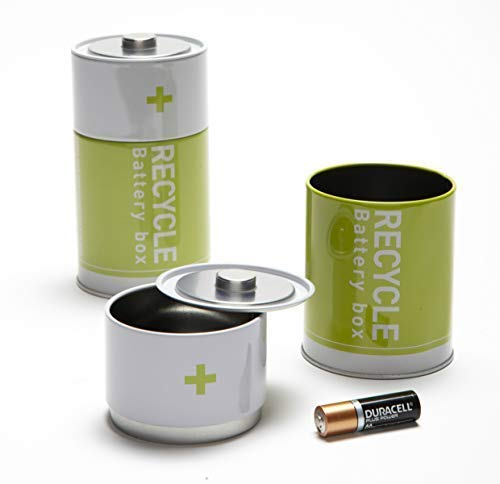 Monkey Business The Battery Recycling Bin Tin Container
